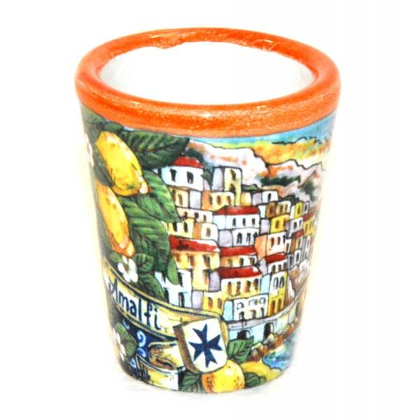 Shot Glass Amalfi Orange
