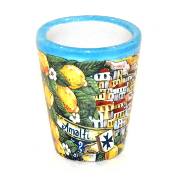Shot Glass Amalfi Light Blue