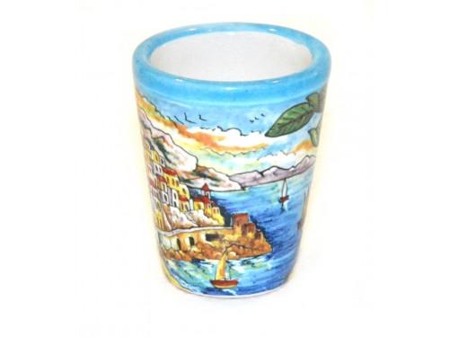 Shot Glass Amalfi Light Blue