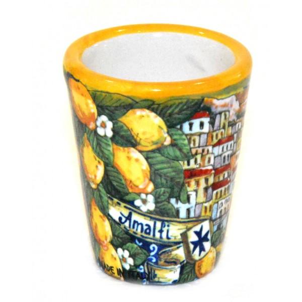 Shot Glass Amalfi yellow