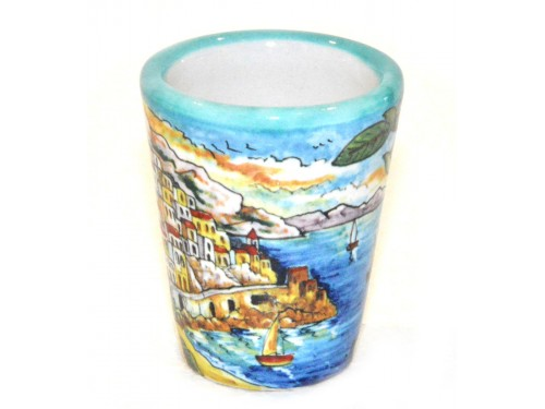 Bicchierino Limoncello Amalfi verde