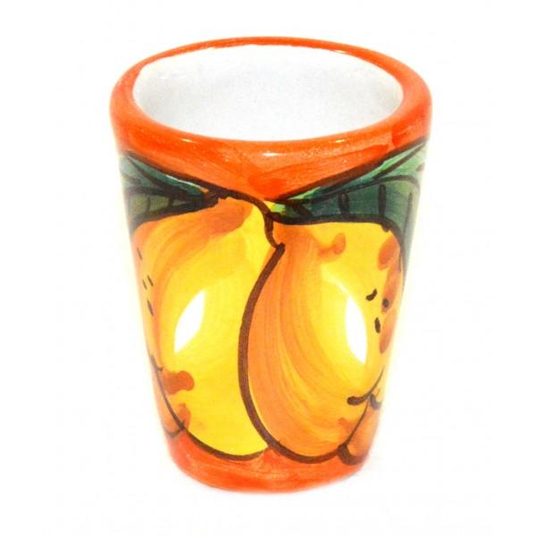 Shot Glass Lemon orange