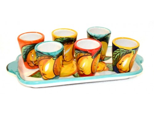 Limoncello Set Lemon Multicolor