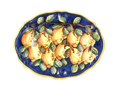 Oval Sim Plate Lemon