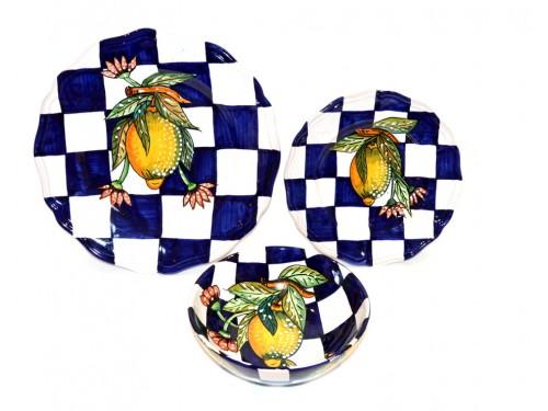 Set Piatti Limoni Moderno versione 1