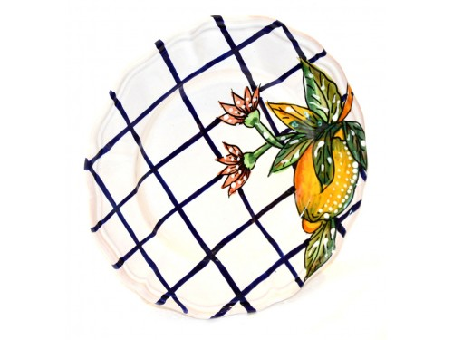 Salad Plate Modern Lemon (4th version)