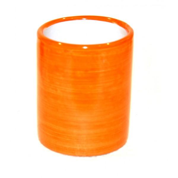 Ceramic Glass Monocolor orange