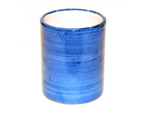 Bicchiere Ceramica Monocolore jeans