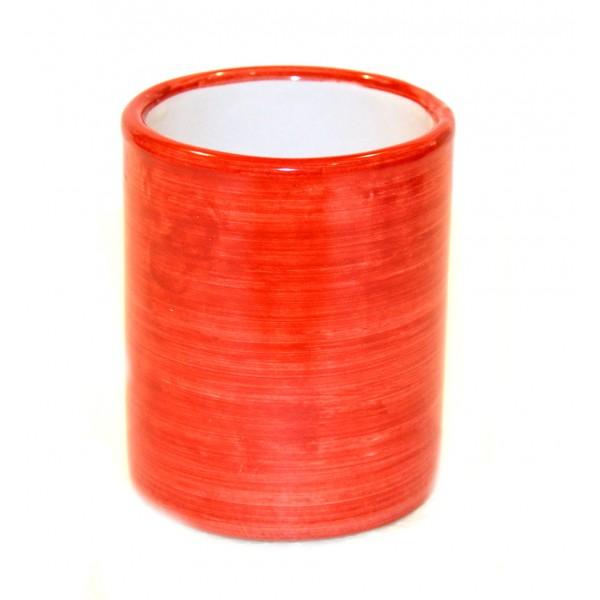 Ceramic Glass Monocolor red