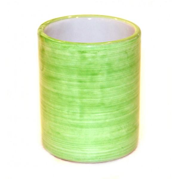 Ceramic Glass Monocolor green