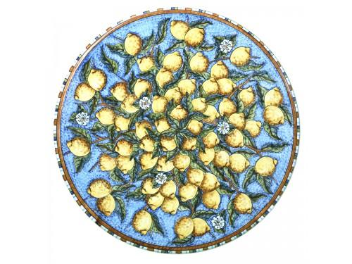 Tavolo da Pranzo Limoni Celeste (da 70 a 120 cm)