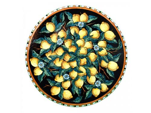 Tavolo da Pranzo Limoni nero (da 70 a 120 cm)