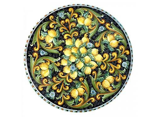 Tavolo da Pranzo Limoni P. nero (da 70 a 120 cm)