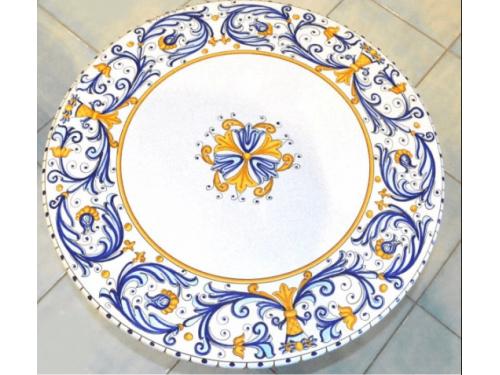 Tavolo da Pranzo Rinascimento Oro (da 70 a 120 cm)