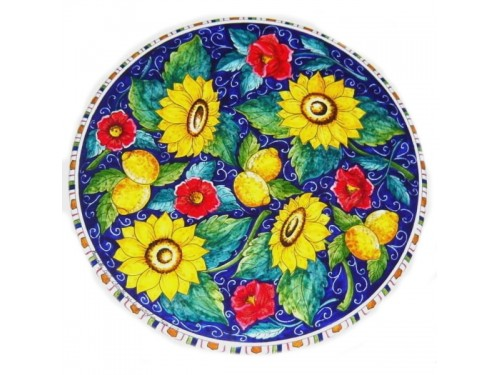 Dining Table Sunflowers - Poppies (from 27,55 to 47,20 inches)