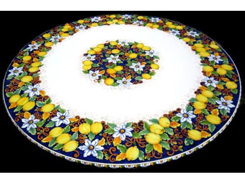 Tavolo da Pranzo Limoni e Fiori (da 70 a 120 cm)