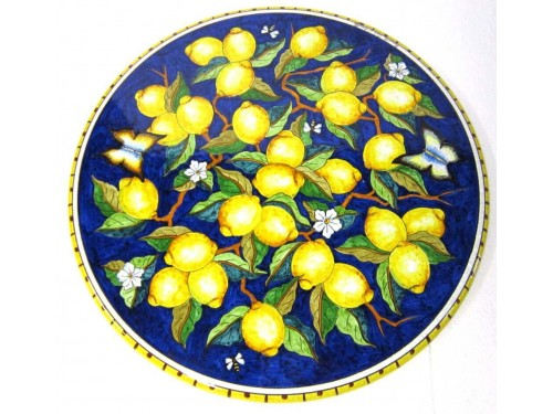 Dining Table Lemon Butterflies (from 27,55 to 47,20 inches)