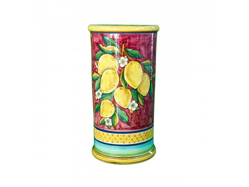 Umbrella Stand Lemon Red