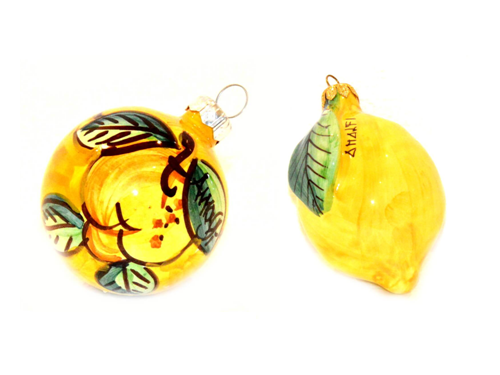 Christmas Set Lemon yellow (2 pieces)