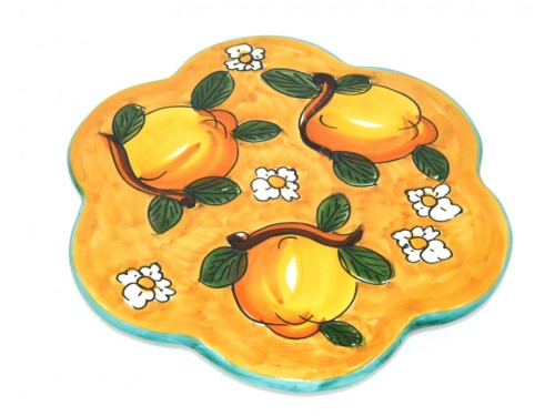 Trivet (flower shape) Lemon Daisies Yellow