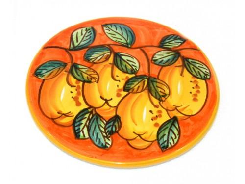 Sottopentola Limoni Arancione (18 cm)