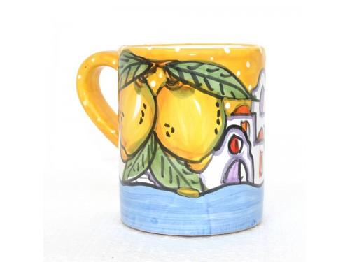 Bicchiere Casette giallo