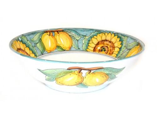 Serving Bowl Sunflower Lemon Green (3 sizes)