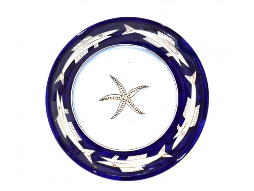 Serving Bowl Anchovies Blue (3 sizes)