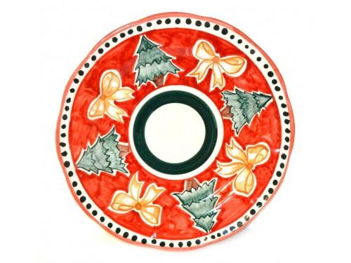 Christmas Plate Xmas Tree (Dinner Plate)