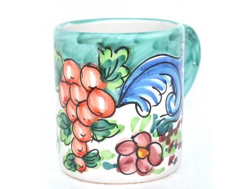 Mug Barocco green