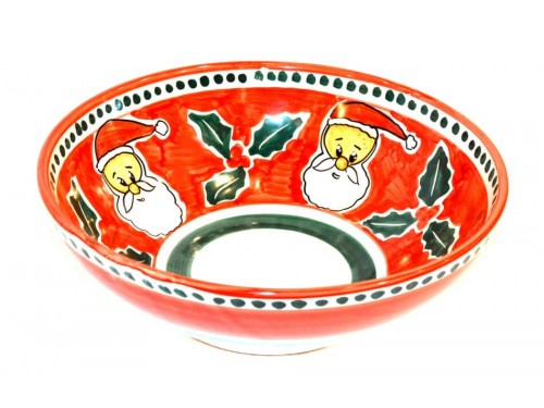 Christmas Serving Bowl Santa Claus (2 sizes)