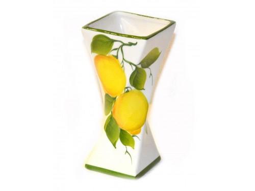 Vaso per tavolo limoni 19 cm