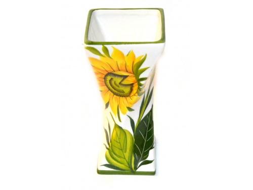 Vaso per tavolo girasoli 19 cm