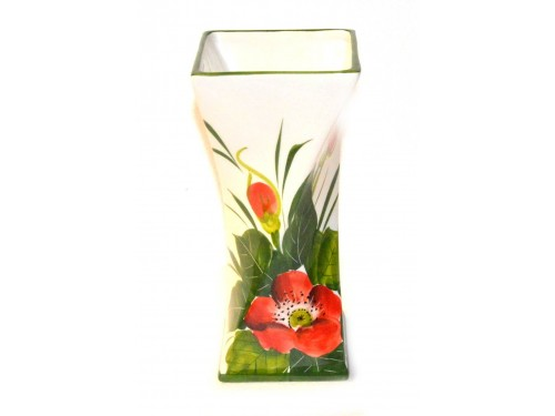 Vaso per tavolo papaveri (23 cm)