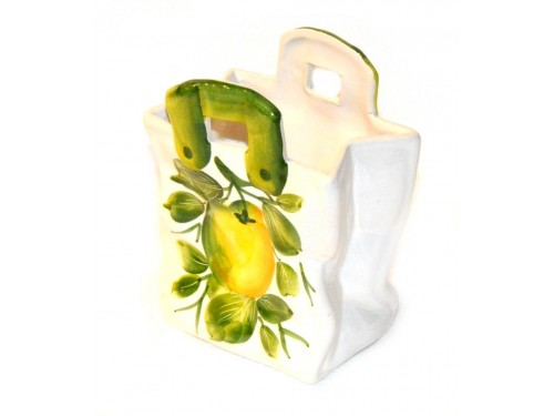 Bag Lemons 5,50 inch (Vase - Utensil Holder)