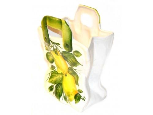 Bag Lemon 9,05 inch (Vase - Utensil Holder)
