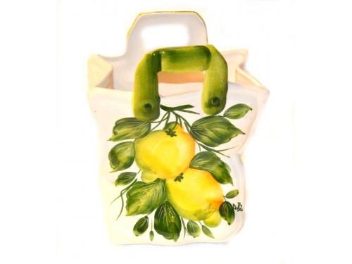 Bag Lemon 11,80 inch (Vase - Utensil Holder)