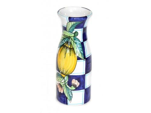 Vaso per tavolo limoni e quadrati