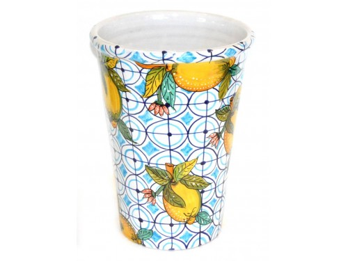 Vaso - Porta ghiaccio Limoni Celeste