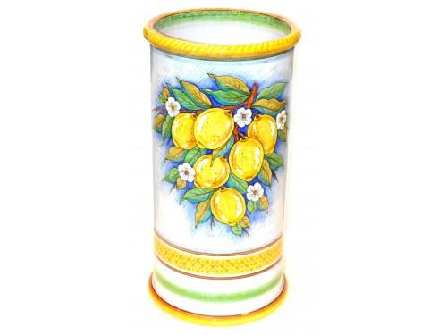 Umbrella Stand Lemon White