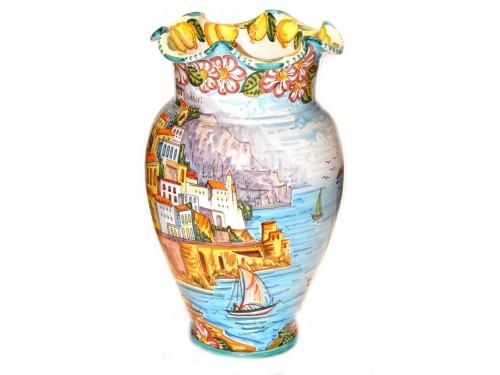 Vase Amalfi Coast Sunshine (20 inches)