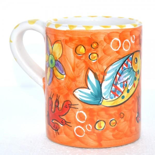 Mug Fishes orange