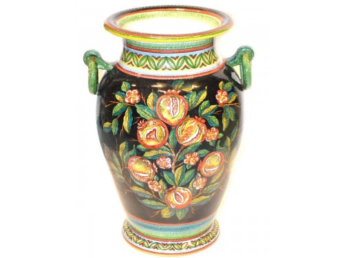 Vase with handle Pomegranates (20 inches) LAST PIECE