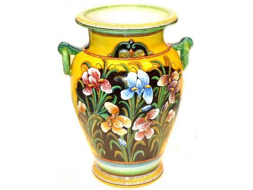 Vaso con manici iris 50 cm