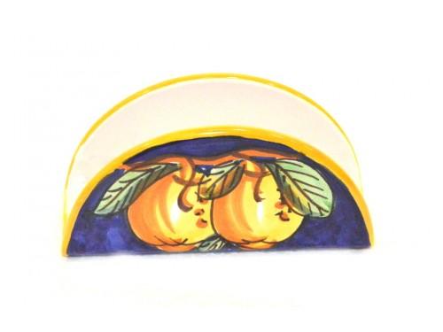 Napkin holder lemon blue