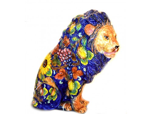 Huge Lion Mixfruit design 1 of a kind (height 23,50 inches)
