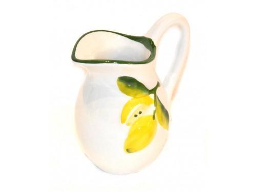 Lattiera limoni bianco 10 cm