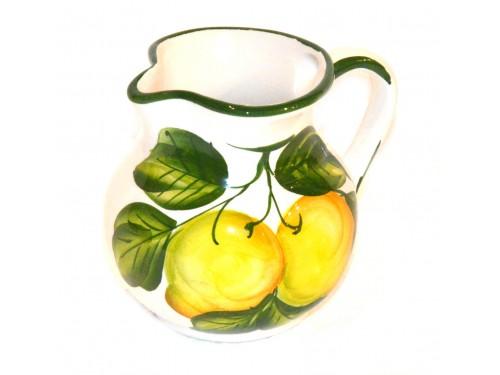 Lattiera limoni bianco 12  cm