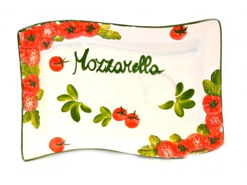 Mozzarella plate 11,80 inches