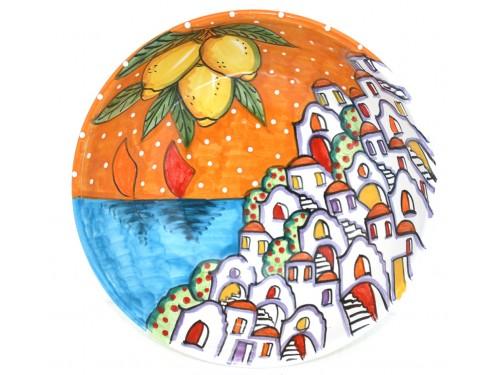 Round Bowl Houses orange